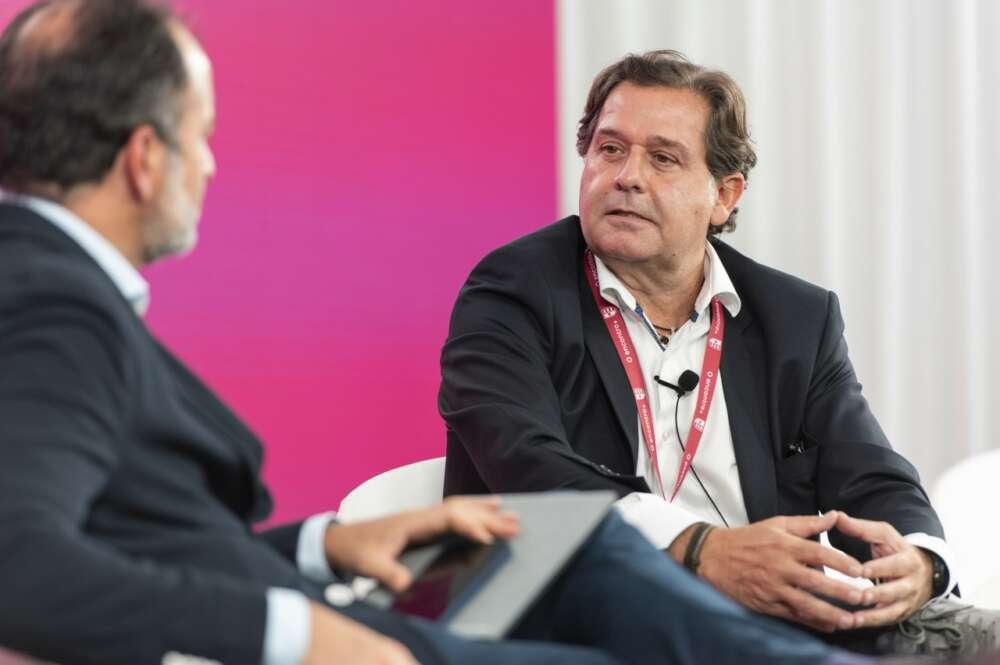 Ignacio Rivera, CEO de Corporación Hijos de Rivera, en el encuentro empresarial en A Toxa organizado por Cesuga. Foto: Cesuga