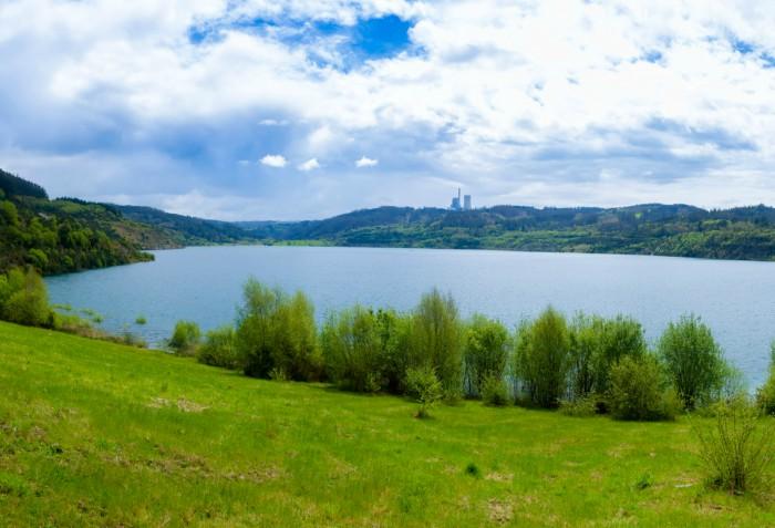 Proyecto hidroeléctrico en el lago de Meirama: la Xunta estudia una solicitud del presidente de Copasa