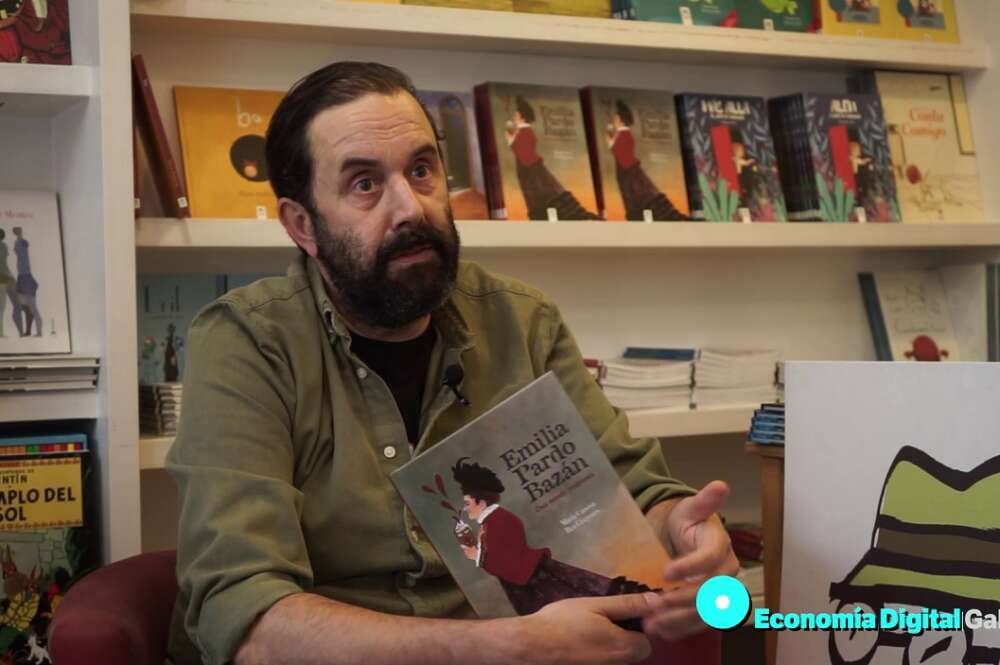 Pablo Zaera, fundador de Editorial Bululú, en A Coruña