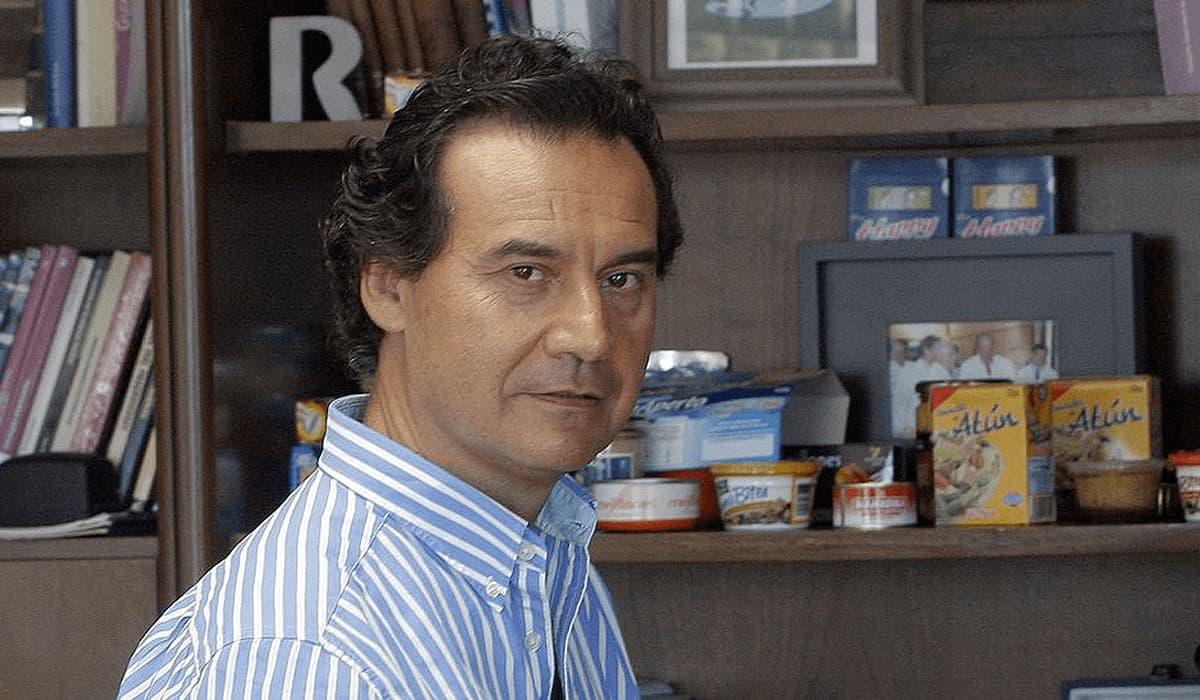 Jesús Alonso, consejero delegado de Jealsa, que ha sido denunciada por la Fiscalía de Medio Ambiente por vertidos contaminantes en la ría de Arousa / Jealsa