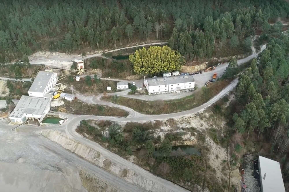 Complexo mineiro San Finx, en Lousame / Ecologistas en Acción