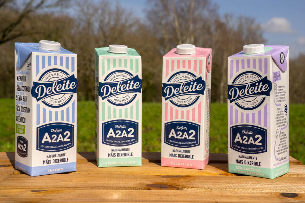 Deleite revoluciona su leche y entra en Gadis y Froiz