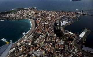 Vista aérea de la ciudad de A Coruña. EFE/Cabalar