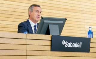 César González Bueno, consejero delegado del Sabadell