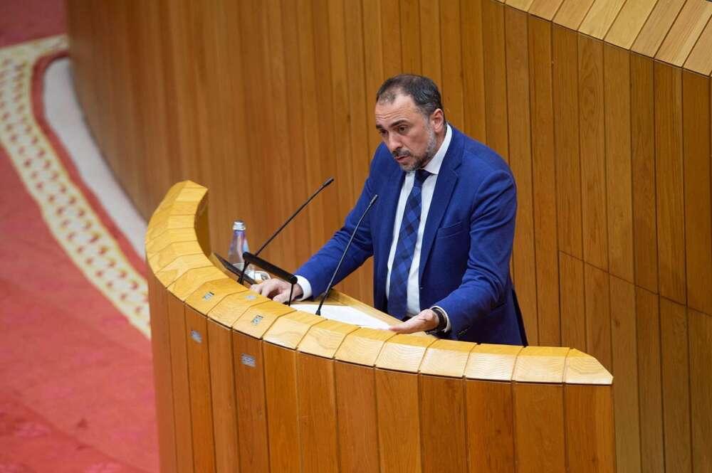 El conselleiro de Sanidade, Julio García Comesaña. Foto: Europa Press