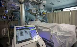 Covid: la presión hospitalaria baja en toda Galicia, excepto en Pontevedra y Santiago