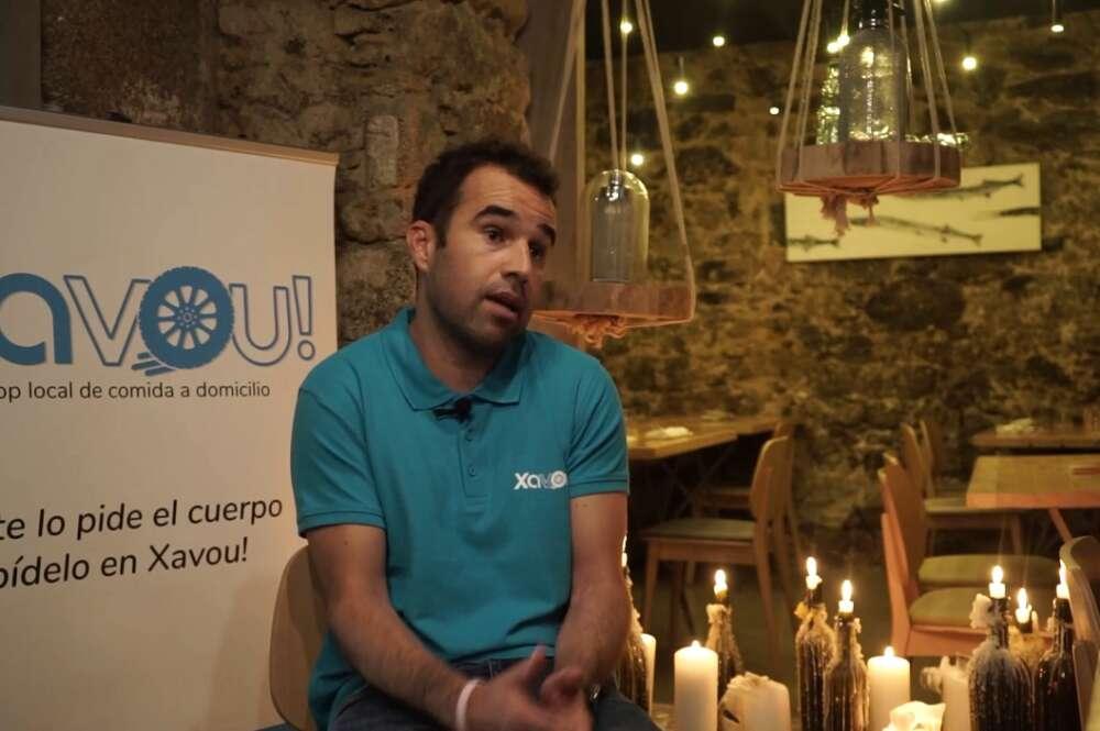 Diego Queiro, responsable de Xavou! explica en Galicia en Primera Persona las características diferenciales de su plataforma de delivery