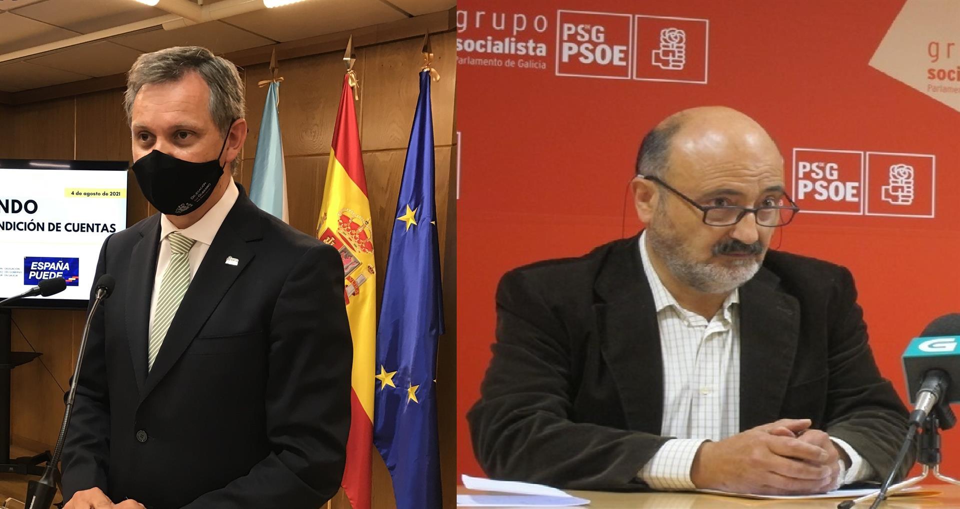 """El PSOE gallego airea su guerra interna: """"Feijóo estará encantado"""""""