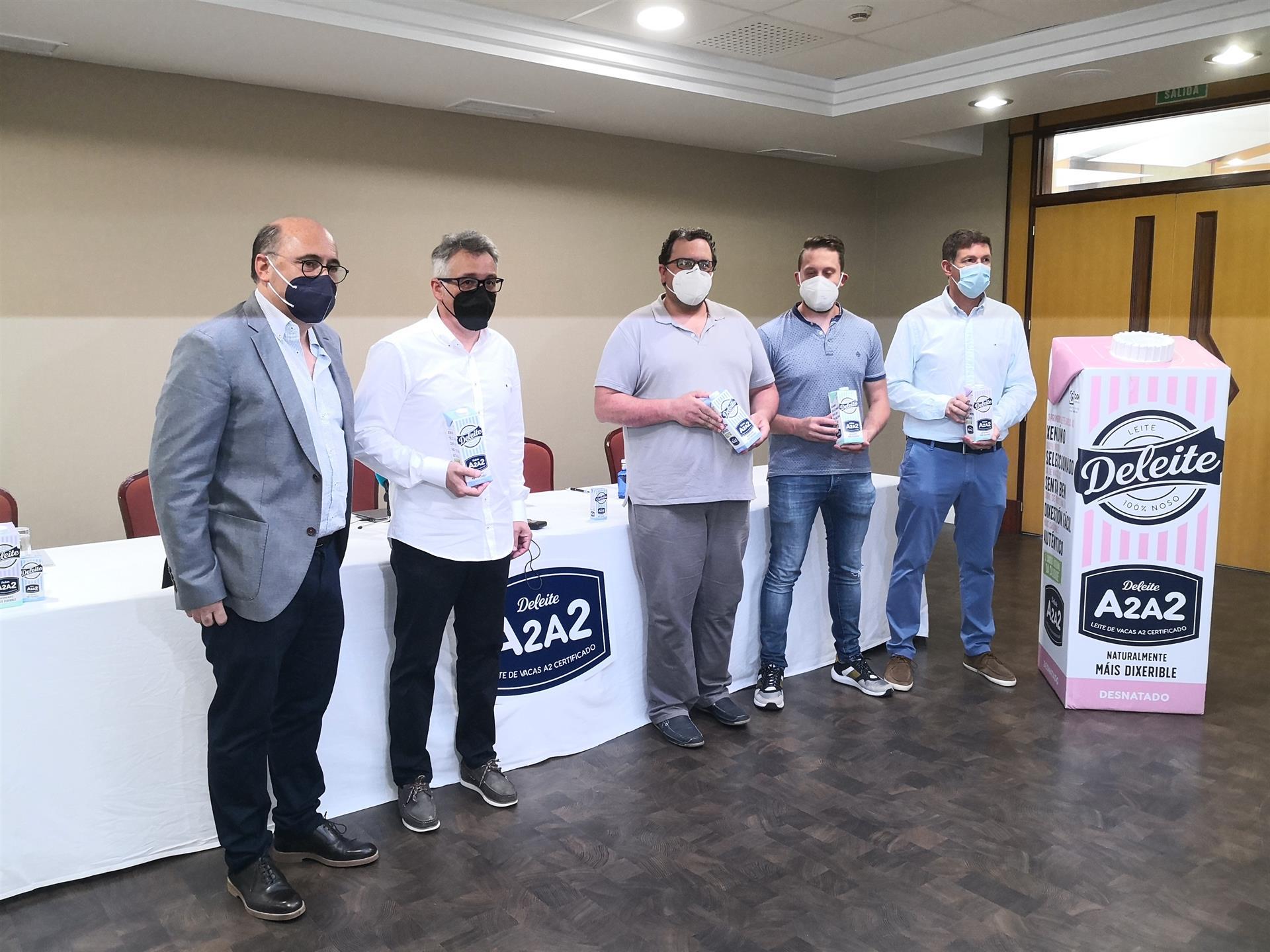 Presentación de la nueva leche de Deleite - EUROPA PRESS