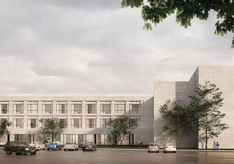 Proyecto para la residencia de mayores que financia la Fundación Amancio Ortega en Ourense