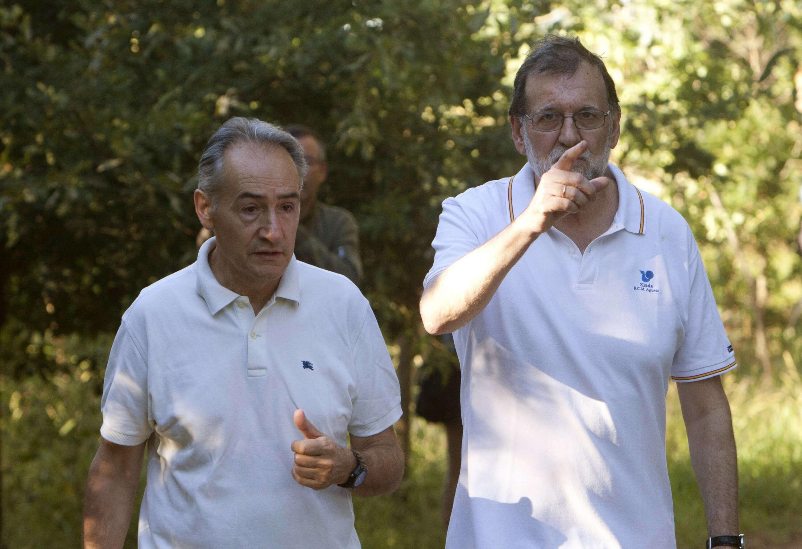 José Benito Suárez y Mariano Rajoy