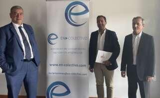 Los abogados de En Colectivo, la asociación de usuarios que ha puesto en jaque la ampliación de concesiones a Audasa para la explotación de la AP-9. Foto: En Colectivo