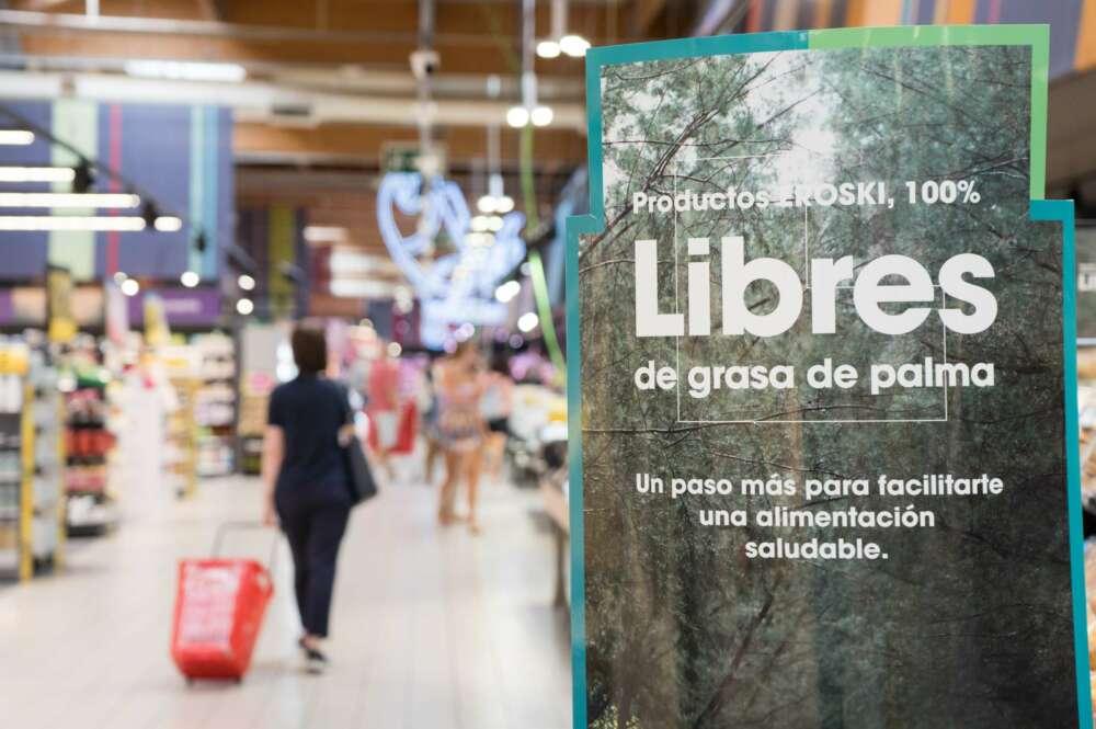Vegalsa-Eroski elimina la grasa de palma de todos sus productos de marca blanca
