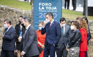 El Gobierno prohíbe una manifestación que coincide con un acto de Pedro Sánchez y del presidente de Iberdrola