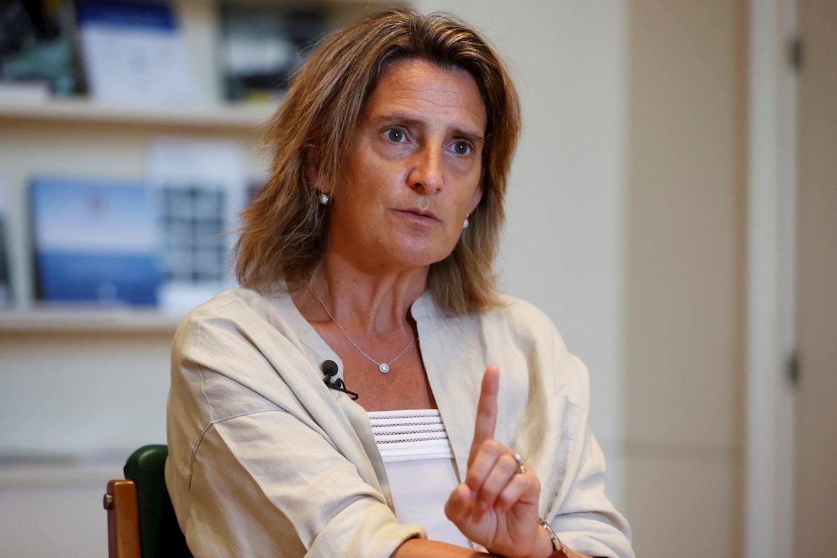 Teresa Ribera, ministra de Transición Ecológica. EFE/ Carlos Hidalgo