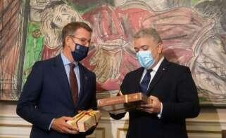 El presidente de Colombia invita a Feijóo a una reunión en el país para buscar alianzas en energías renovables