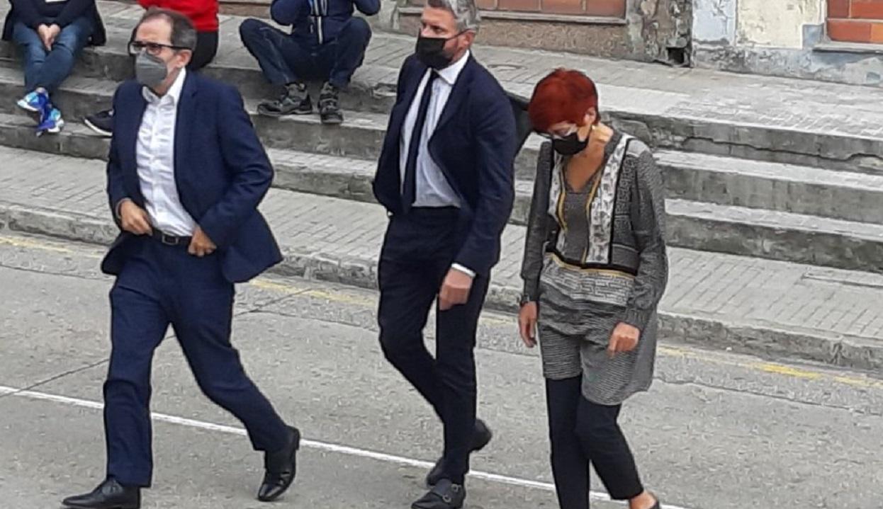 Sandra Ortega, entrando en los juzgados de A Coruña. Foto: Economía Digital Galicia
