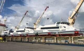 Rodman entrega 14 lanchas y tres catamaranes a Angola