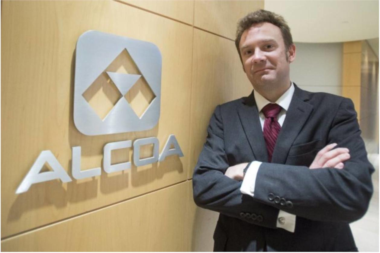 Roy Harvey, presidente y CEO de Alcoa