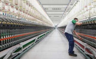 Fábrica textil en Portugal
