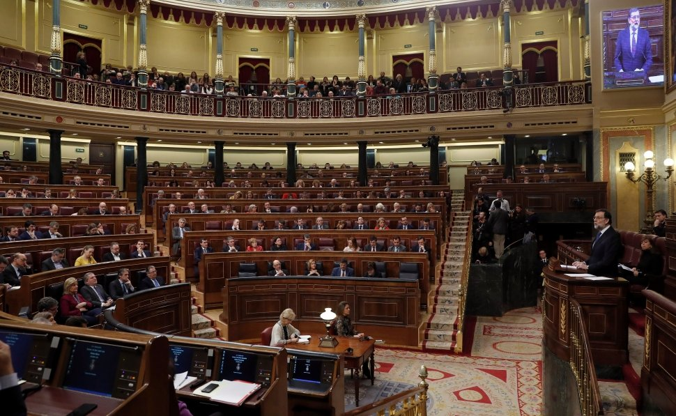 Fotografía de un pleno del Congreso de los Diputados. EFE