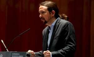 El vicepresidente segundo y ministro de Derechos Sociales y Agenda 2030, Pablo Iglesias. Foto: Efe