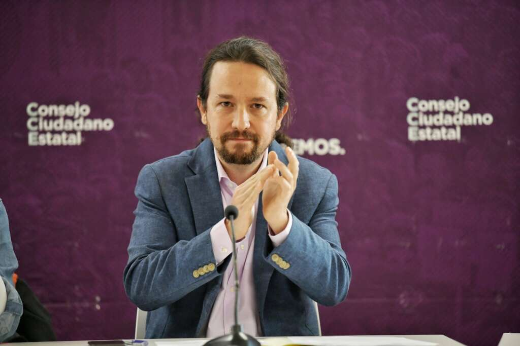 El líder de Podemos y vicepresidente segundo del Gobierno, Pablo Iglesias / Podemos
