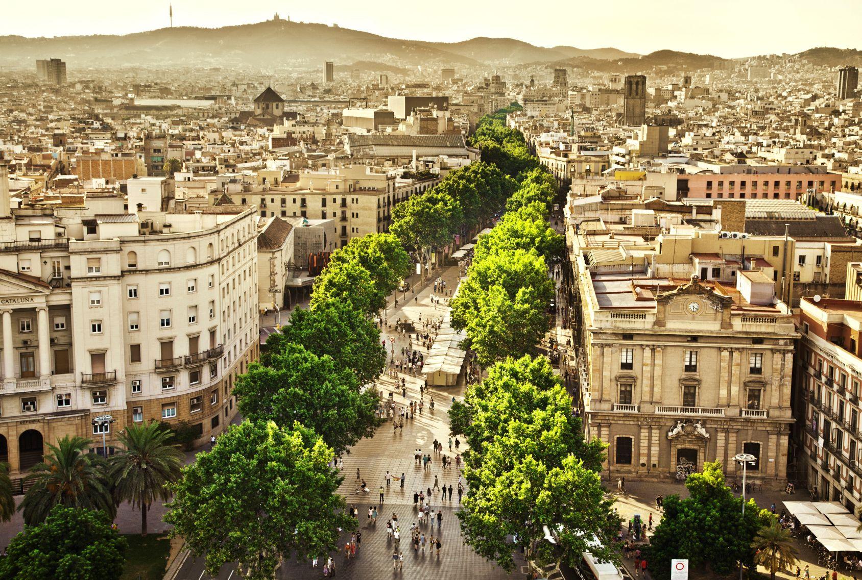 barcelona es un de los destinos ya incluidos en la nueva app hilton