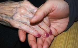 hands skin holding hands elderly senior aged old nails 769005