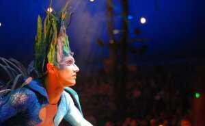 imagen de un espectaculo del cirque du soleil a su paso por melbourne