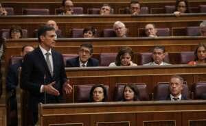 pedro sanchez defendio su mocion de censura en el congreso de los diputados