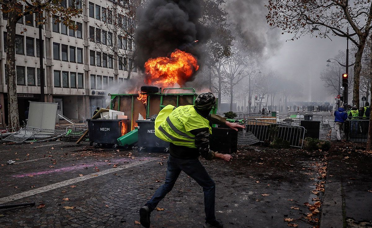 protestas paris