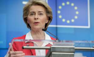 La presidenta de la Comisión Europea, Ursula von der Leyen | EFE/Archivo