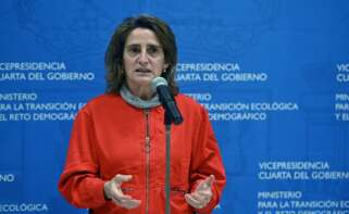 La ministra de Transición Ecológica, Teresa Ribera, en un acto en Madrid el 18 de diciembre de 2020 | EFE/FV/Archivo