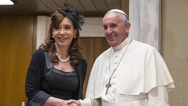 cristina fernandez papa francisco