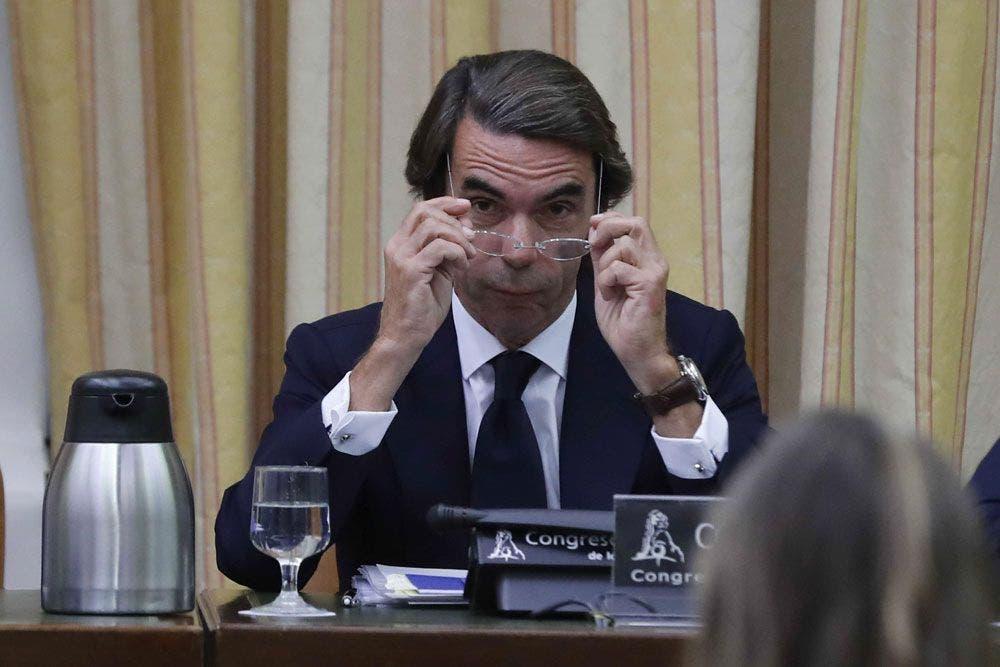 El expresidente del Gobierno, José María Aznar | EFE/Archivo