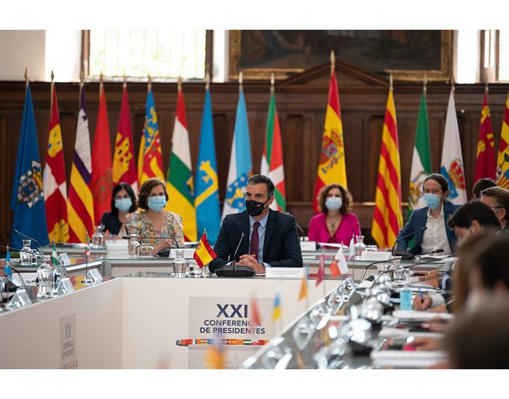 Pedro Sanchez en la Conferencia de Presidentes