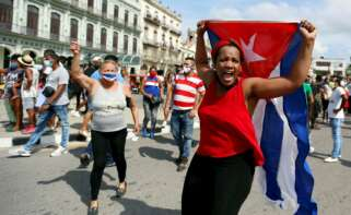 protesta cuba habana