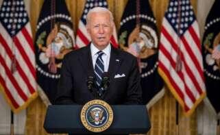 Comparecencia de Joe Biden tras los atentados en Afganistán.