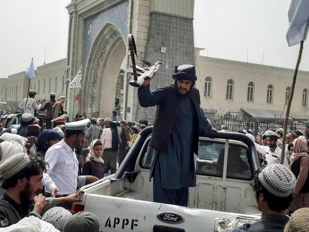 Los talibanes toman Kabul. // EFE
