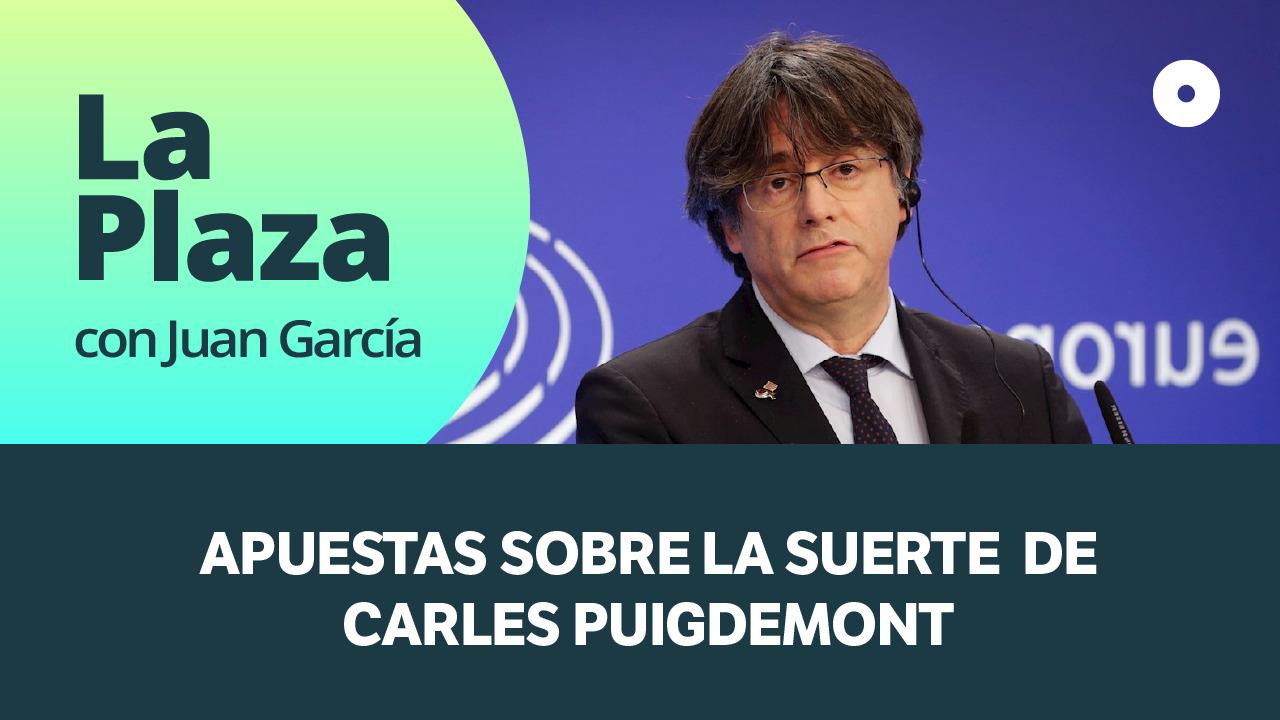 Apuestas sobre la suerte de Carles Puigdemont.