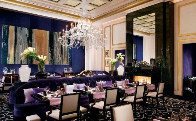 MGM Restaurant Joel Robuchon, Las Vegas.