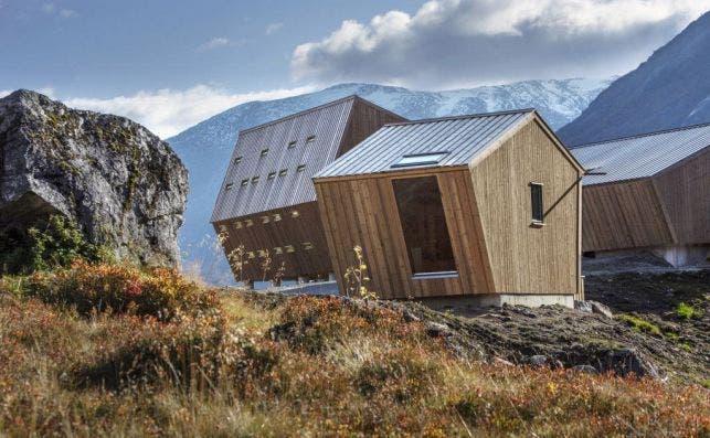 Noruega estrena refugio para amantes de la naturaleza. Foto: Snøhetta.
