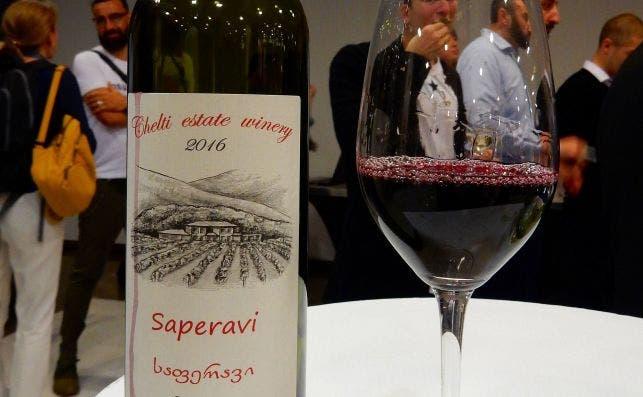 Saperavi, producto de Georgia. Foto: Jordi Català