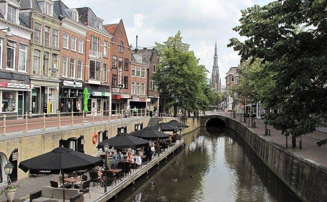 Leeuwarden, la ciudad natal del artista M.C.Escher. Foto: Wikipedia.