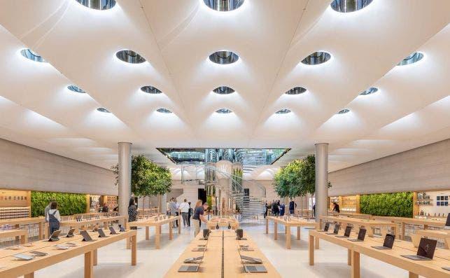 Apple Store Quinta Avenida. Foto: Foster Partners.