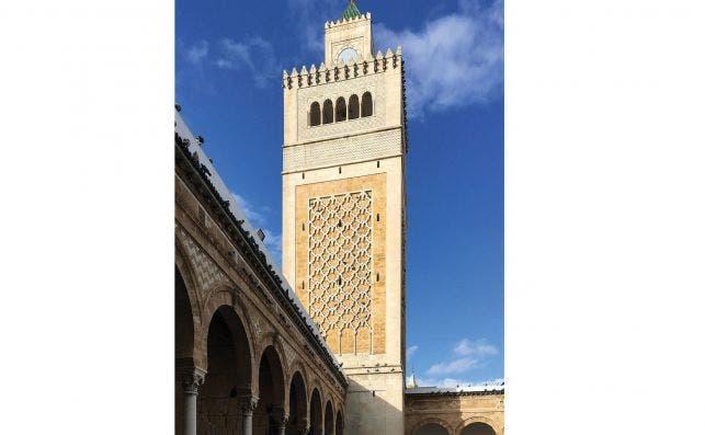Mezquita de Zitouna. Foto: Faouzia Ben Khoud