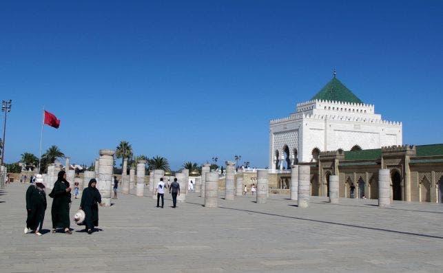 Mausoleo de Mohamed V. Foto: Lucía Díaz Madurga