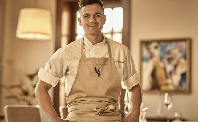 AÌlvaro Salazar, chef del restaurante Voro, en Mallorca. Foto: Hyatt Park
