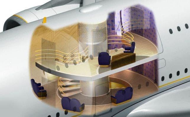 A380+ascensor imagen DesignQ